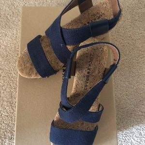 Wedge Sandals by Lucky